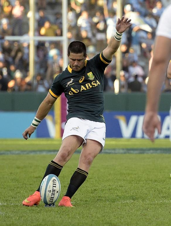 Morne Steyn scored 766 points in 66 Tests for the Springboks (AFP Photo/JUAN MABROMATA)