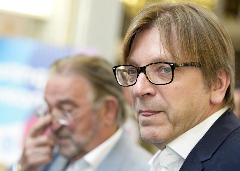 European Parliament negotiator Guy Verhofstadt wants Brits to retain some EU citizenship rights: AFP/Getty