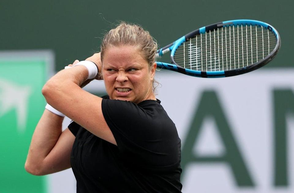 Kim Clijsters was defeated over three sets (Getty Images)