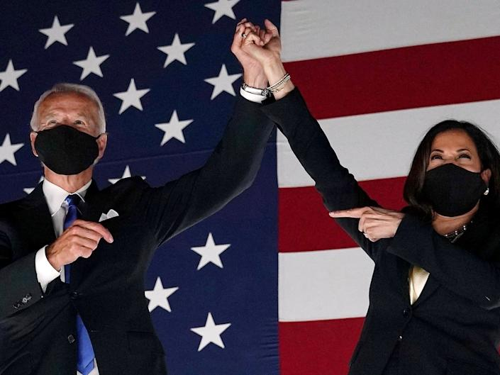 <p>Biden inauguration announces virtual 'We the People' concert featuring Carole King, James Taylor, Fall Out Boy, and more.</p> (AFP via Getty Images)