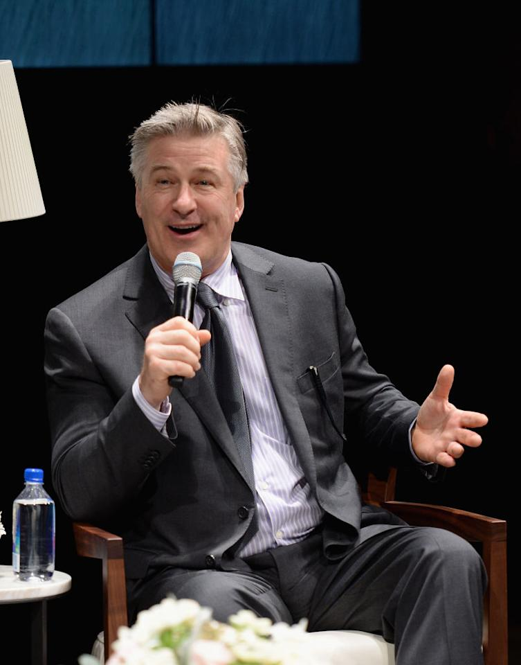 """<p>Alec Baldwin was driving on the Santa Monica Freeway with a plastic cup of chardonnay between his legs when he reached a """"moment of clarity."""" The star revealed in a book of the same title that his lifestyle made it easy for him to abuse alcohol but he cleaned up his act and has been sober for over 30 years.<em>(Photo: Getty)</em> </p>"""