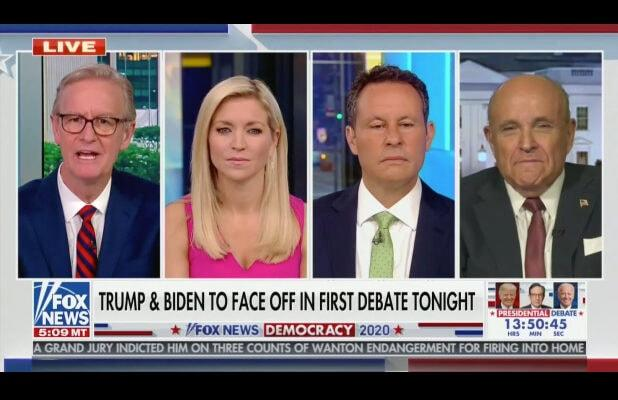 'Fox & Friends' Host Interrupts Giuliani After He Baselessly Says Biden Has Dementia: 'None of Us Are Doctors' (Video)