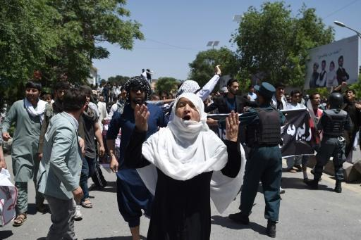 Tense Kabul under lockdown after deadly protest clashes