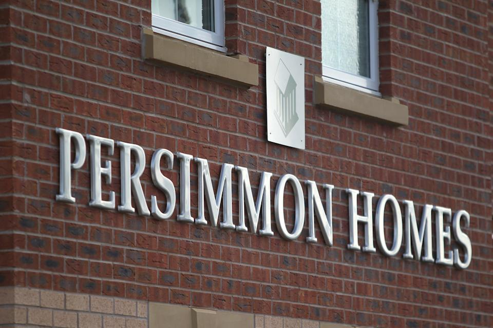 A Persimmon Homes sign (PA Archive)