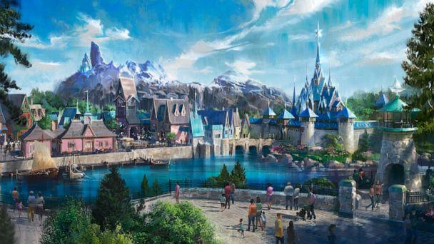 PHOTO: A new 'Frozen'-themed land is coming to Disneyland Paris. (Disney Parks )