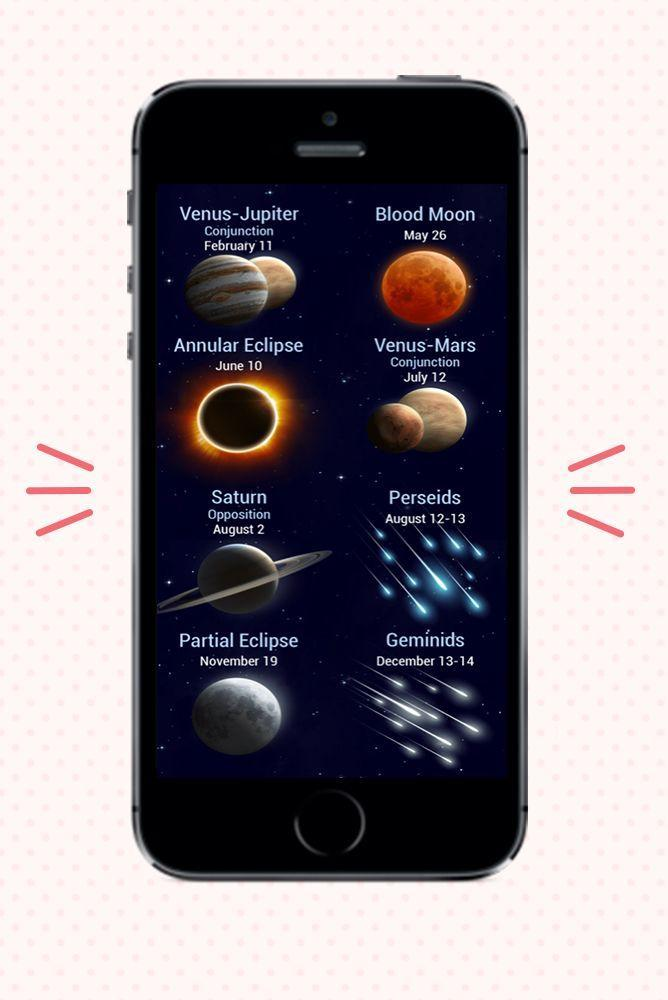 """<p>This stargazing app allows you to explore the cosmos through your phone screen by pointing it to the sky. More than 10 million users have tried versions of this app, which offers a map of the sky in real time; 3D models of constellations and other sky objects; info about celestial bodies and events; astronomical news, and an augmented reality mode. </p><p><strong>Cost:</strong> Free for <a href=""""https://apps.apple.com/us/app/star-walk-2-ads-night-sky-map/id1112481571"""" rel=""""nofollow noopener"""" target=""""_blank"""" data-ylk=""""slk:iOS"""" class=""""link rapid-noclick-resp"""">iOS</a> and <a href=""""https://play.google.com/store/apps/details?id=com.vitotechnology.StarWalk2Free&hl=en_US&gl=US"""" rel=""""nofollow noopener"""" target=""""_blank"""" data-ylk=""""slk:Android"""" class=""""link rapid-noclick-resp"""">Android</a>.</p>"""