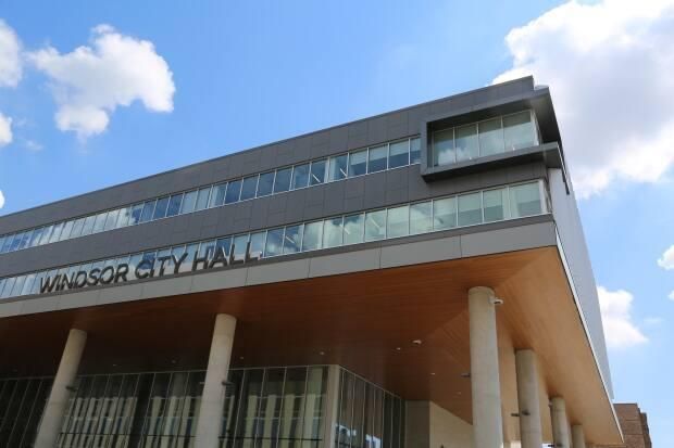 Windsor's City Hall is shown in a file photo.  (Jonathan Pinto/CBC - image credit)