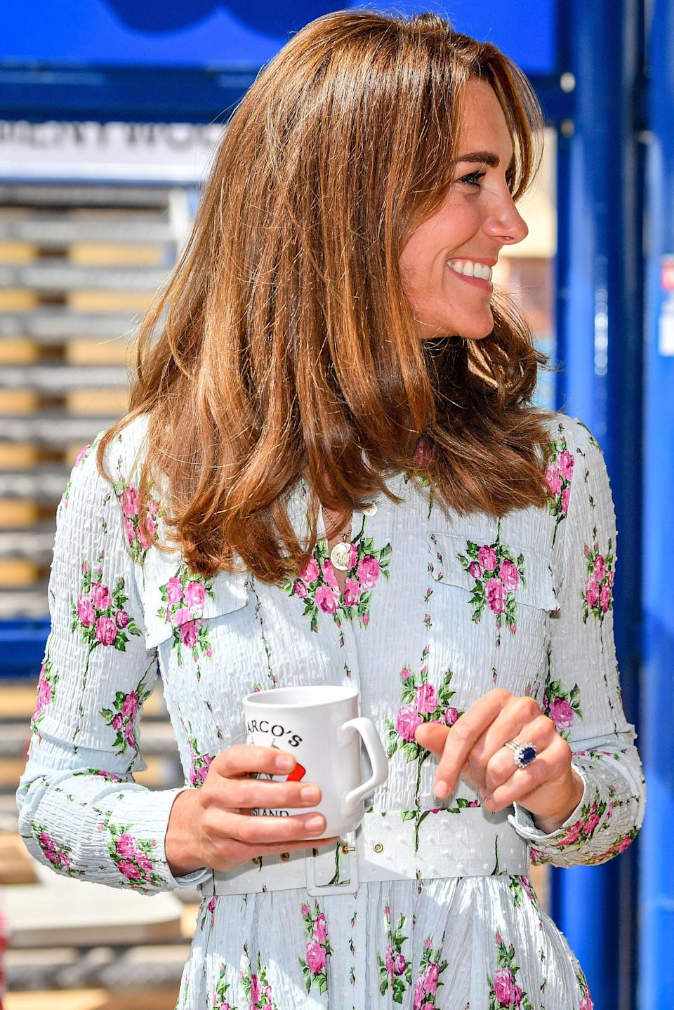 "We don't know yet what magical rain- and humidity-defying hair products Middleton uses for <a href=""https://www.glamour.com/story/kate-middleton-post-quarantine-haircut-color?mbid=synd_yahoo_rss"" rel=""nofollow noopener"" target=""_blank"" data-ylk=""slk:her signature bounce"" class=""link rapid-noclick-resp"">her signature bounce</a>, but apparently, Kiehl's Since 1851 has <a href=""https://www.huffpost.com/entry/how-to-get-kate-middletons-hair-products-revealed_n_5a733e20e4b06ee97af06891"" data-ylk=""slk:something to do with it"" class=""link rapid-noclick-resp"">something to do with it</a>. While the trusted brand isn't offering deals on its haircare this time around, there is a solid selection of skincare products currently on markdown."