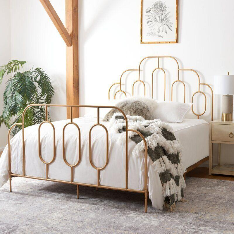 """Well-known <a href=""""https://fave.co/2KF9VLm"""" target=""""_blank"""" rel=""""noopener noreferrer"""">Wayfair</a> has tons of affordable furniture for all around the house. It has everything from <a href=""""https://www.huffpost.com/entry/best-sites-for-midcentury-modern-furniture_n_596fcbdce4b062ea5f8ef4f3"""" target=""""_blank"""" rel=""""noopener noreferrer"""">midcentury modern pieces</a> to <a href=""""https://www.huffpost.com/entry/southwestern-style-furniture-decor-online_l_5f57d6d3c5b67602f5fd2d8a"""" target=""""_blank"""" rel=""""noopener noreferrer"""">Southwestern-style items</a>. And of course, its selection includes art deco finds, like this<a href=""""https://fave.co/3cnIe4x"""" target=""""_blank"""" rel=""""noopener noreferrer"""">geometric gold bed frame</a>and <a href=""""https://fave.co/32T9AfT"""" target=""""_blank"""" rel=""""noopener noreferrer"""">frosted glass globe lamp</a>. <br /><br /><a href=""""https://fave.co/2KF9VLm"""" target=""""_blank"""" rel=""""noopener noreferrer"""">Check outWayfair</a>."""