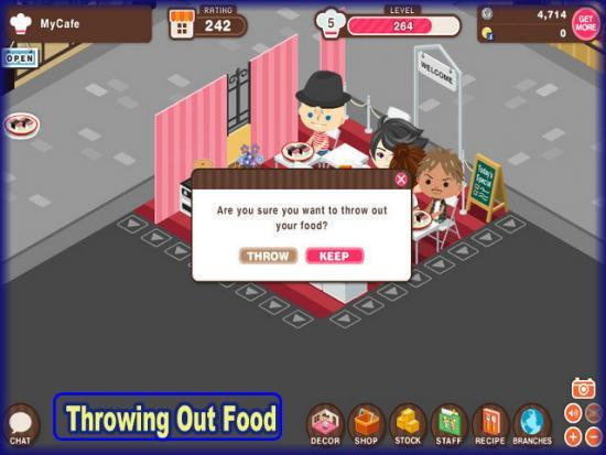 World Chef throwing out food