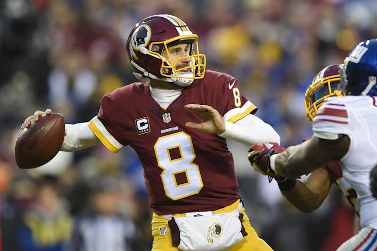 Kirk Cousins could prove to be a bargain in fantasy drafts this season. (AP Photo/Nick Wass, File)