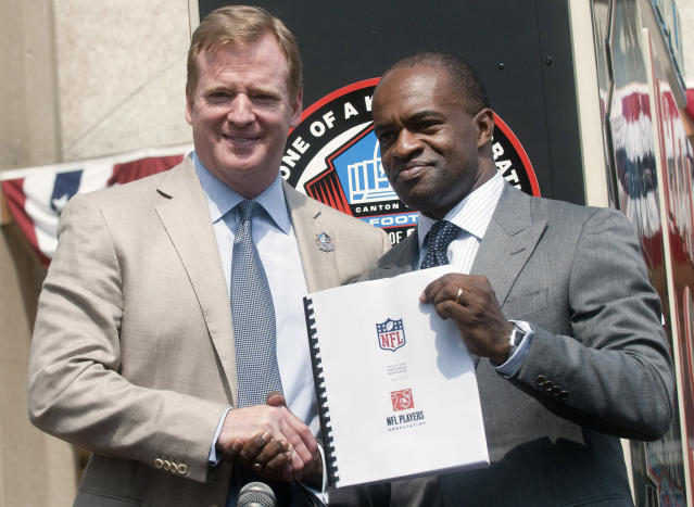 Will the league and the NFLPA reach a deal soon? (AP Photo/Phil Long)