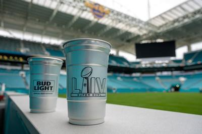 Centerplate, Ball Corporation and Bud Light to Present Infinitely Recyclable Aluminum Cups at Super Bowl LIV (Photo credit: Matthew Noel)