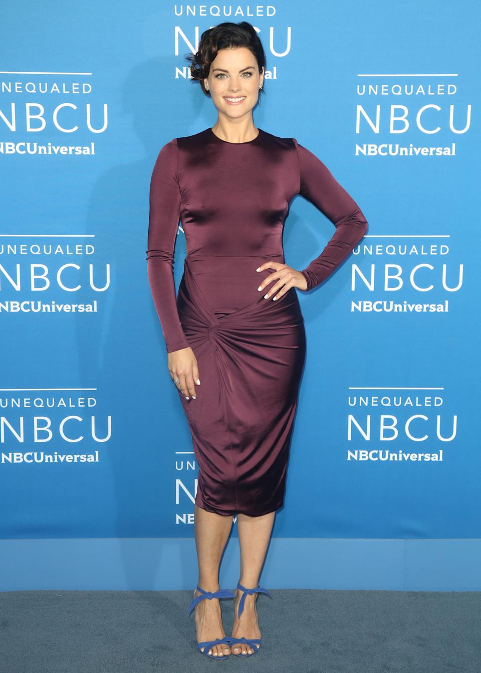 Photo by: KGC-146/STAR MAX/IPx 2017 5/15/17 Jamie Alexander at The 2017 NBCUniversal Upfront in New York City.