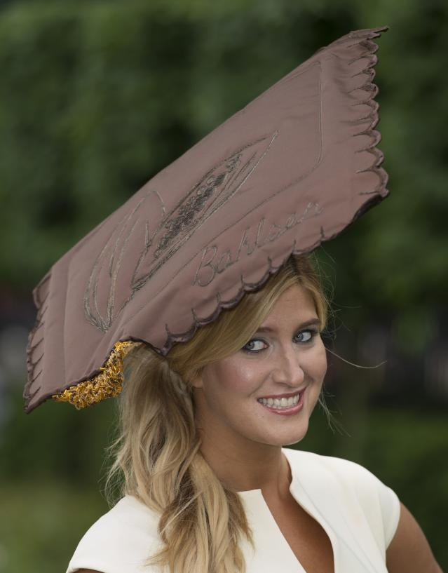 ASCOT, ENGLAND - JUNE 20: Cheska Hull attends Ladies Day on Day 3 of Royal Ascot at Ascot Racecourse on June 20, 2013 in Ascot, England. (Photo by Mark Cuthbert/UK Press via Getty Images)