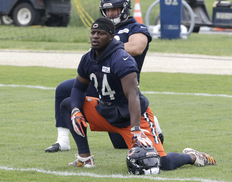 Chicago Bears running back Jordan Howard is in line for a big season and is being undervalued in drafts. (AP Photo/Charles Rex Arbogast)