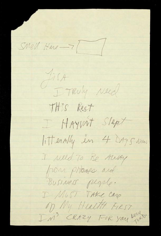 Deeply Personal Letter Penned By Michael Jackson Pulled From
