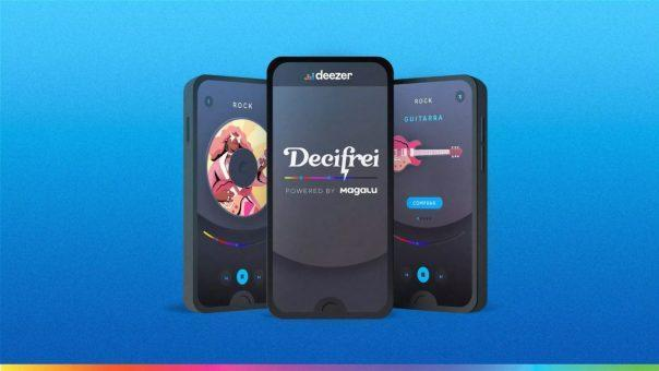 """Decifrei, or """"Shoppin' Inside Songs"""" as it has been branded in English, is a zeitgeist that has rippled across the global music industry. Image courtesy of Magalu"""