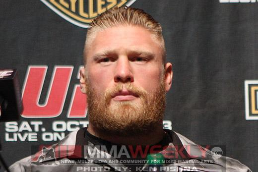 Brock Lesnar Called Dana White and Begged Him to Help Convince Pat Barry to Retire