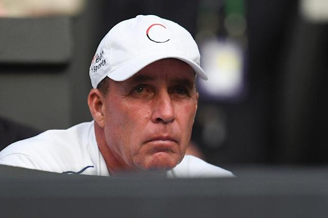Tennis legend Ivan Lendl has been added to Alexander Zverev's coaching team ahead of the start of next week's US Open in Flushing Meadows, New York. (AFP Photo/Glyn KIRK)