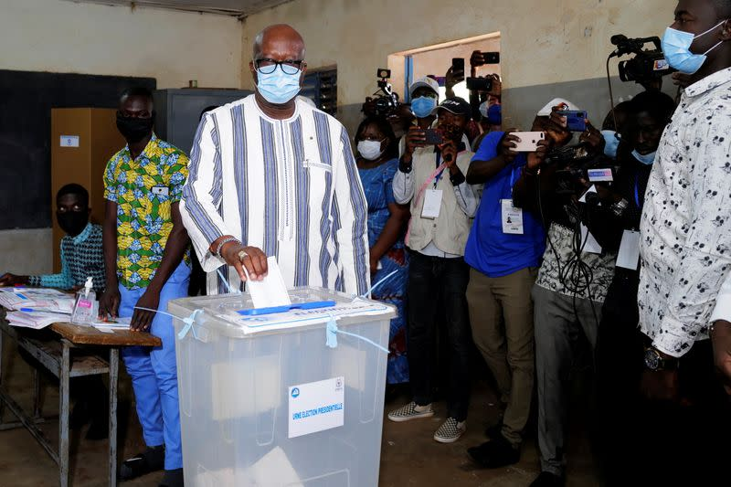 Burkina Faso holds presidential and legislative elections