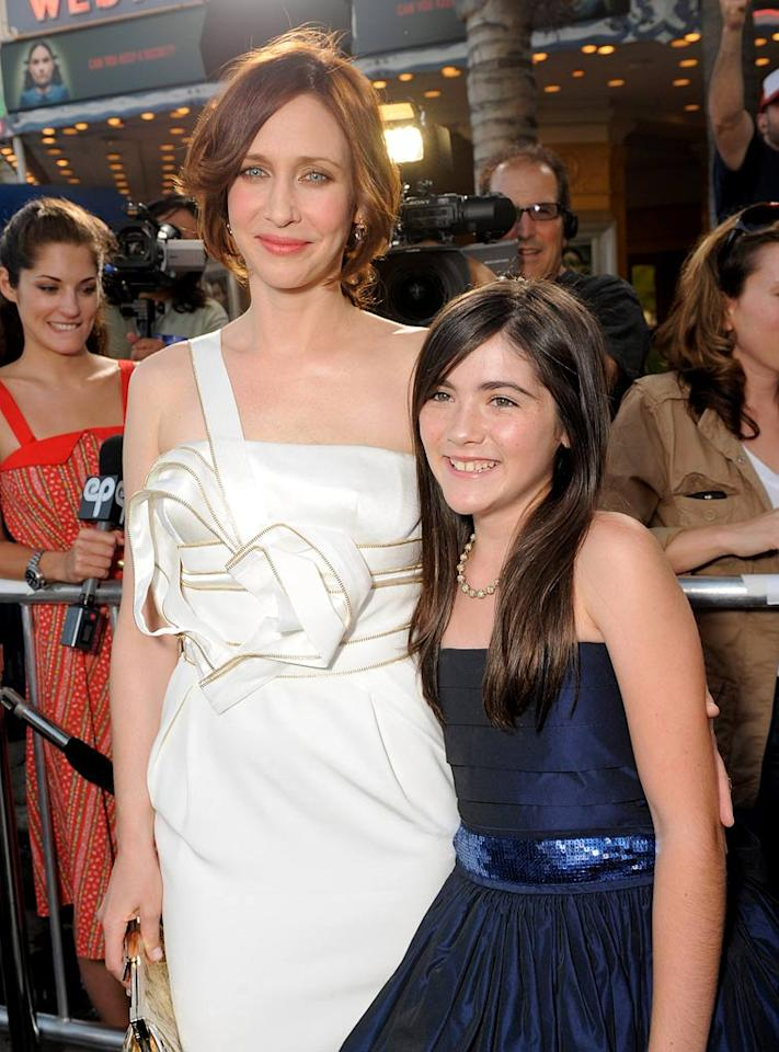 """<a href=""""http://movies.yahoo.com/movie/contributor/1800354486"""">Vera Farmiga</a> and <a href=""""http://movies.yahoo.com/movie/contributor/1809772465"""">Isabelle Fuhrman</a> at the Los Angeles premiere of <a href=""""http://movies.yahoo.com/movie/1810046253/info"""">Orphan</a> - 07/21/2009"""