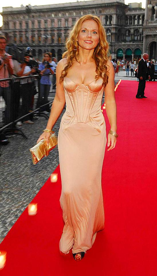 """GInger Spice"" Geri Halliwell shows how she got her nickname. <a href=""http://www.infdaily.com"" target=""new"">INFDaily.com</a> - July 15, 2007"