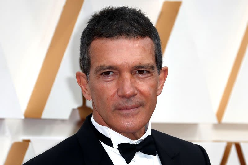 Spanish actor Banderas says tested positive for COVID-19