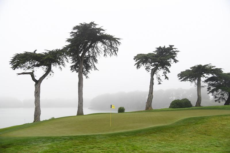 Welcome to Harding Park. (Photo by Harry How/Getty Images)