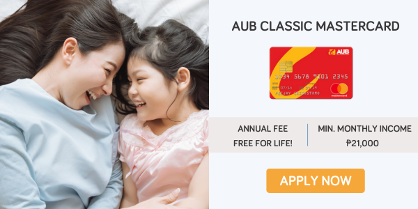 credit cards for women - aub classic mastercard