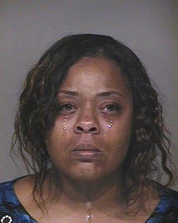 Shanesha Taylor is pictured in this handout booking photo