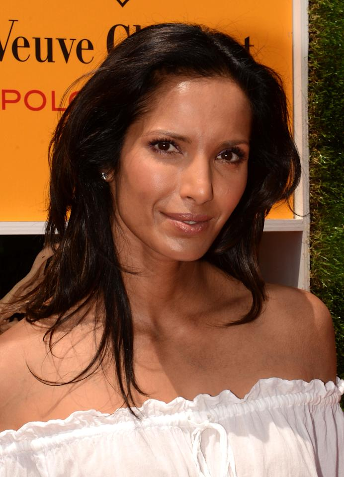 JERSEY CITY, NJ - JUNE 02:  Padma Lakshmi attends the fifth annual Veuve Clicquot Polo Classic on June 2, 2012 in Jersey City.  (Photo by Andrew H. Walker/Getty Images for Veuve Clicquot Polo Classic)