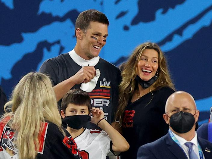 Tom Brady shares wife Gisele Bundchen's response to recent Super Bowl win  (Getty Images)