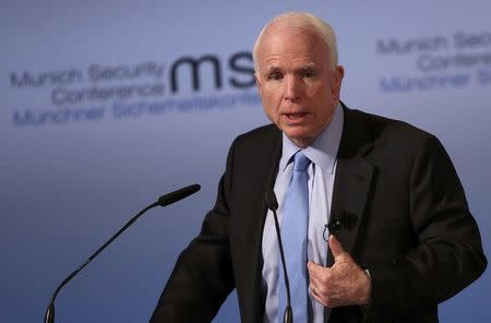 McCain says Trump administration in 'disarray' at Munich Security Conference