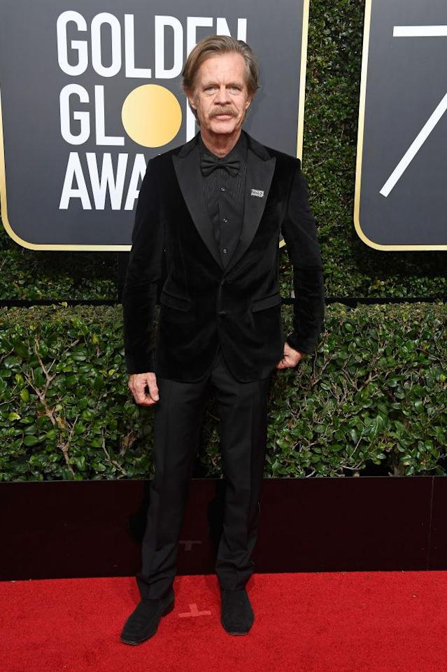<p>The <em>Shameless</em> actor, a nominee in the Best Performance by an Actor in a Television Series — Musical or Comedy category, attends the 75th Annual Golden Globe Awards at the Beverly Hilton Hotel in Beverly Hills, Calif., on Jan. 7, 2018. (Photo: Steve Granitz/WireImage) </p>