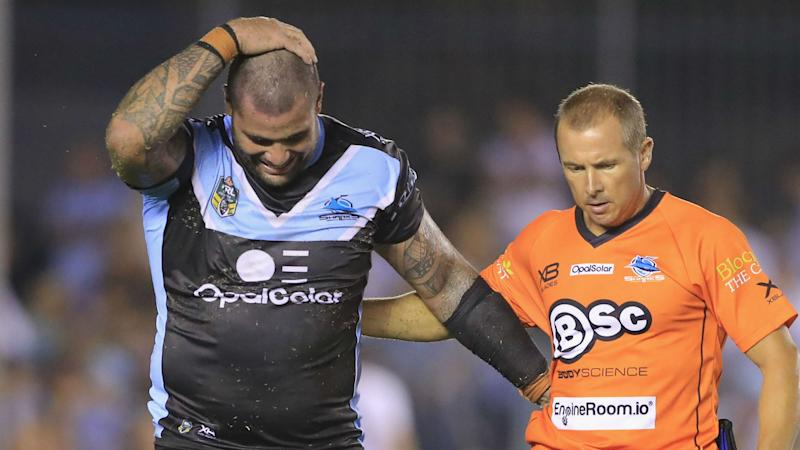 Fifita relief for Sharks