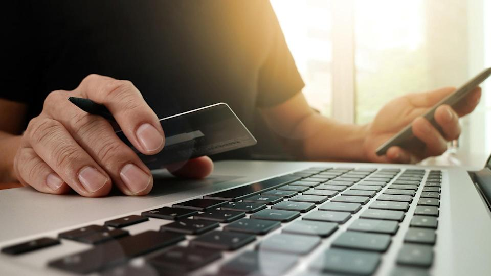 purchasing with a credit card