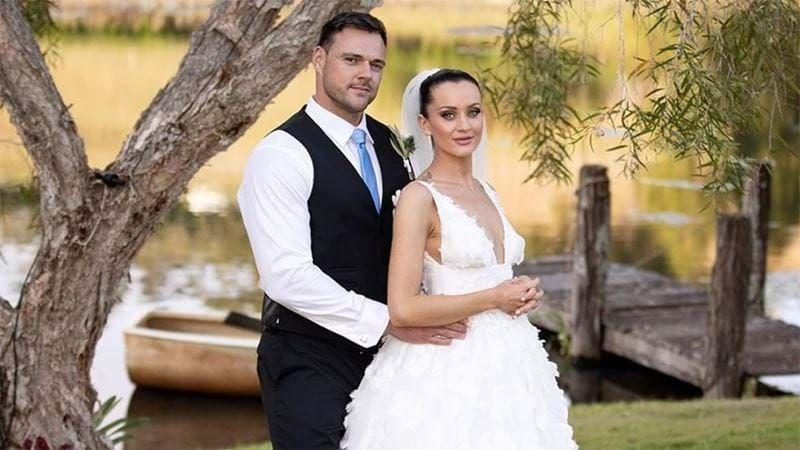 Bronson had an ill-fated marriage to Ines Basic on this year's series of MAFS. Photo: Channel Nine