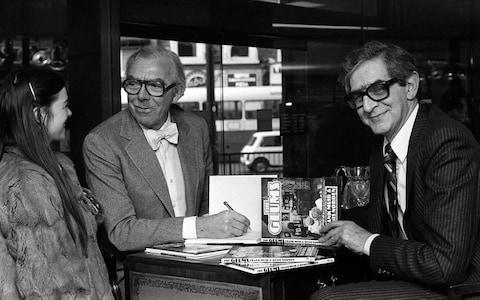 Frank Muir and Denis Norden  - Credit: PA