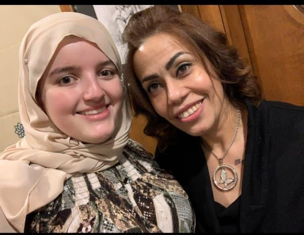 Mariam Nouser, left, remembers Dalia Aly, right, as someone who 'would take everything off her back, everything that she had and give it to people who needed it more.'