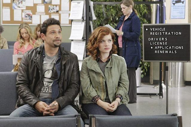 Jeremy Sisto and Jane Levy in Suburgatory (Photo: ABC) <br>