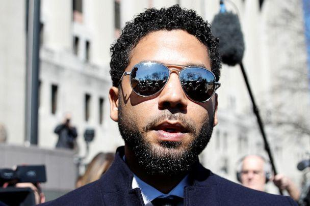 PHOTO: In this file photo, Jussie Smollett leaves court after charges against him were dropped by state prosecutors in Chicago on March 26, 2019. (Kamil Krzaczynski/Reuters, FILE)