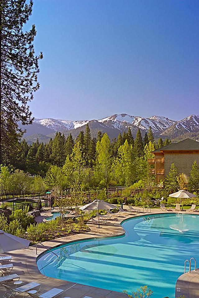 """<p>You'll want to maximize a spring skiing getaway with a little spa time, because there is nothing better than pampering yourself *while also being outdoors in nature*. (Hello, mountain views.) At <a href=""""https://laketahoe.regency.hyatt.com/en/hotel/activities/hotel-activities/spa.html"""" rel=""""nofollow noopener"""" target=""""_blank"""" data-ylk=""""slk:Stillwater Spa"""" class=""""link rapid-noclick-resp"""">Stillwater Spa</a>, you can enjoy all that and après-ski specific treatments like a 50-minute boot relief or reflexology treatment, a Moroccanoil Hydration and Exfoliation ritual (it's important to keep well hydrated during and after a day on the slopes), or a deep tissue massage. </p>"""