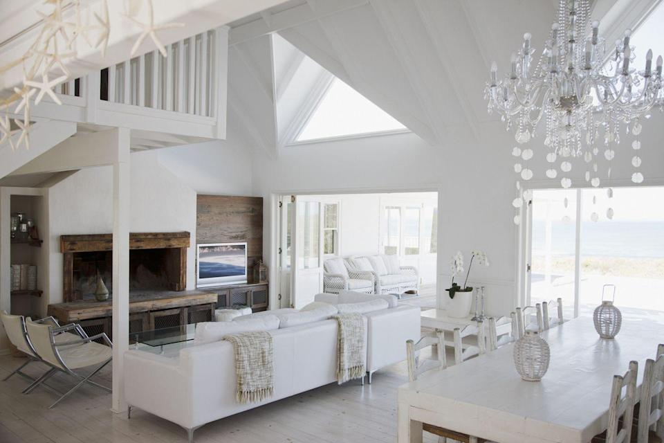 """<p>Having a home that looks like it belongs in an interior design magazine is great... living in that home may be a whole different story. """"The most common design mistake people make is forgetting to be honest with themselves about how they live and function in a space,"""" says Sarah Latham, owner and founder of <a href=""""https://www.lathaminteriordesign.com/"""" rel=""""nofollow noopener"""" target=""""_blank"""" data-ylk=""""slk:Latham Interiors"""" class=""""link rapid-noclick-resp"""">Latham Interiors</a> in Sun Valley, Idaho. """"We can all look at a pretty picture in a magazine of a home and say, 'Yes, that's what I want my space to look like,' but does that take into account a homeowner's lifestyle, family/pets, and livelihood? It's important to be realistic with your expectations, and be honest with how a pretty picture in a magazine or social feeds will withstand your functional needs or uphold the experiences you want from interior spaces over time."""" </p><p>In other words: function has to be your number one priority. That certainly doesn't mean a room can't still be beautiful, it just means you need to make the functional stuff look good. </p>"""