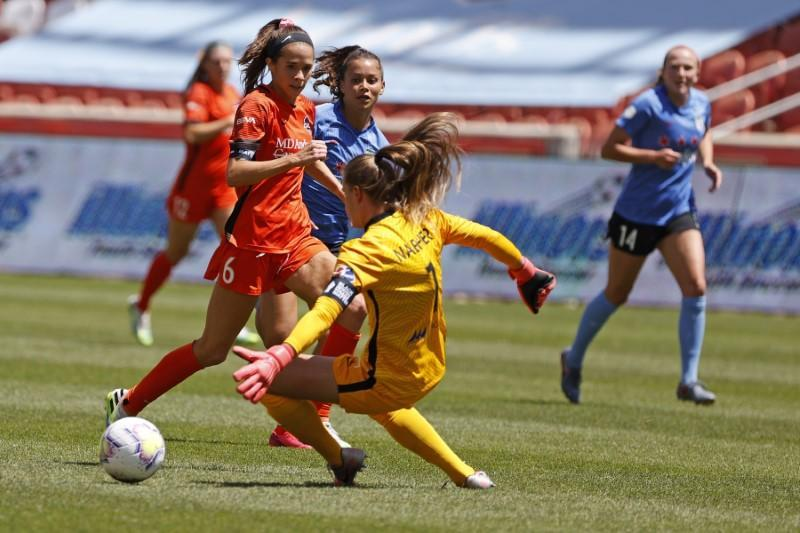 FILE PHOTO: Soccer: NWSL Challenge Cup Final-Chicago Red Stars vs Houston Dash