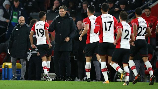 """Mauricio Pellegrino says Sofiane Boufal must """"wait for his opportunity"""" in the wake of an impassioned goal celebration against West Brom."""