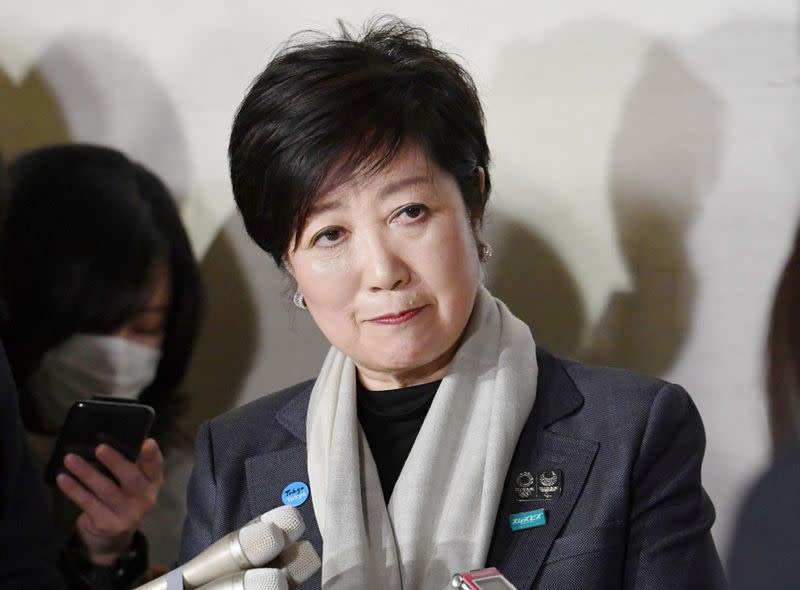 Tokyo to further relax coronavirus curbs on Monday, governor says