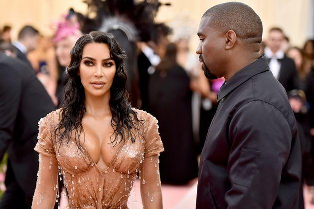 Kardashian and West at the 2019 Met Gala in New York City. (Photo: Theo Wargo via Getty Images)