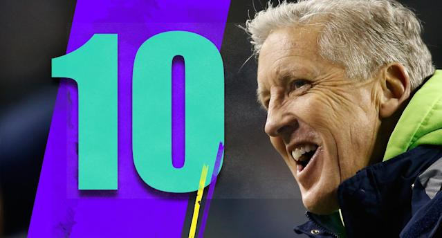 <p>Pete Carroll is going to make $11 million per season through 2021? Given what he's done this season, it doesn't seem like too bad of a deal. (Pete Carroll) </p>