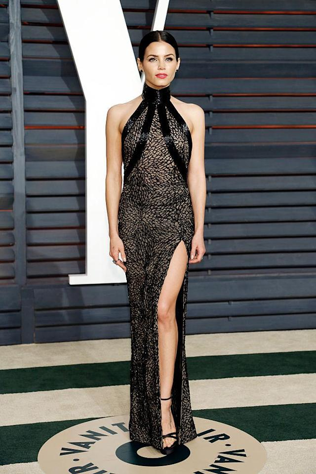 Jenna Dewan Tatum in Zuhair Murad. (Photo: Getty Images)